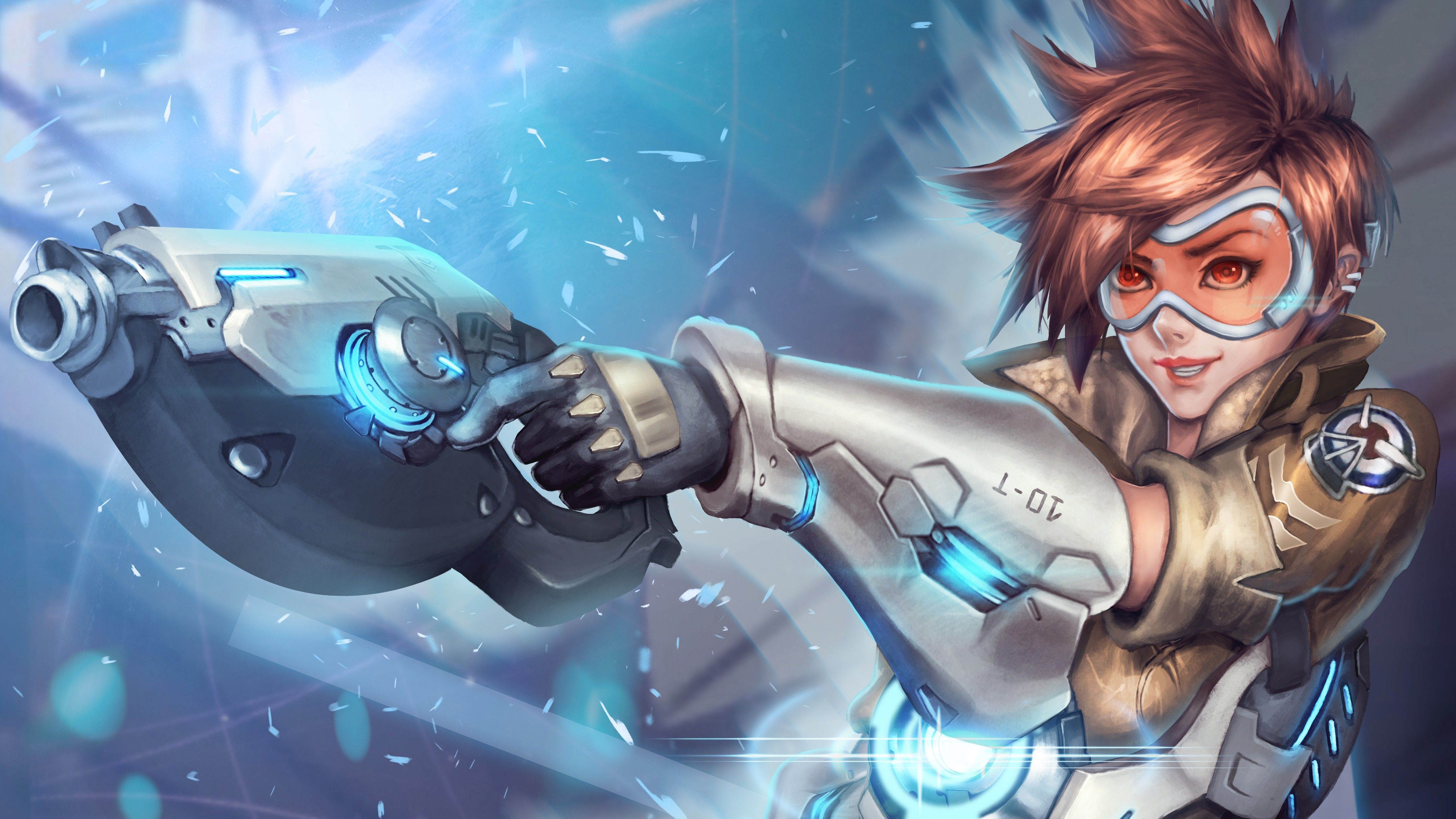 Tracer Overwatch Wallpapers Hd Wallpapers Overwatch Wallpapers Overwatch Tracer Overwatch