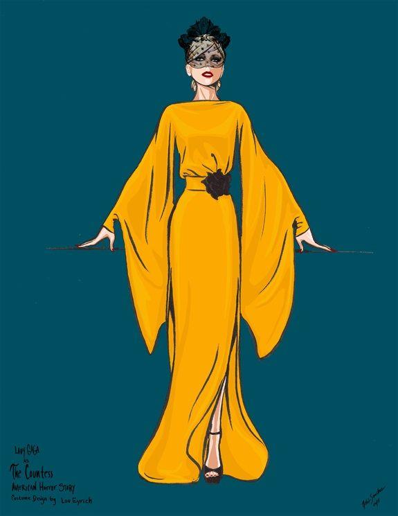 American Horror Story 6 Parla Lou Eyrich Costume Designer Ledi Gaga Amerikanskaya Istoriya Uzhasov Amerikanskaya Istoriya