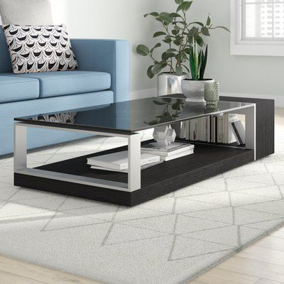 Wade Logan Derry Coffee Table Coffee Table Table Decor Living