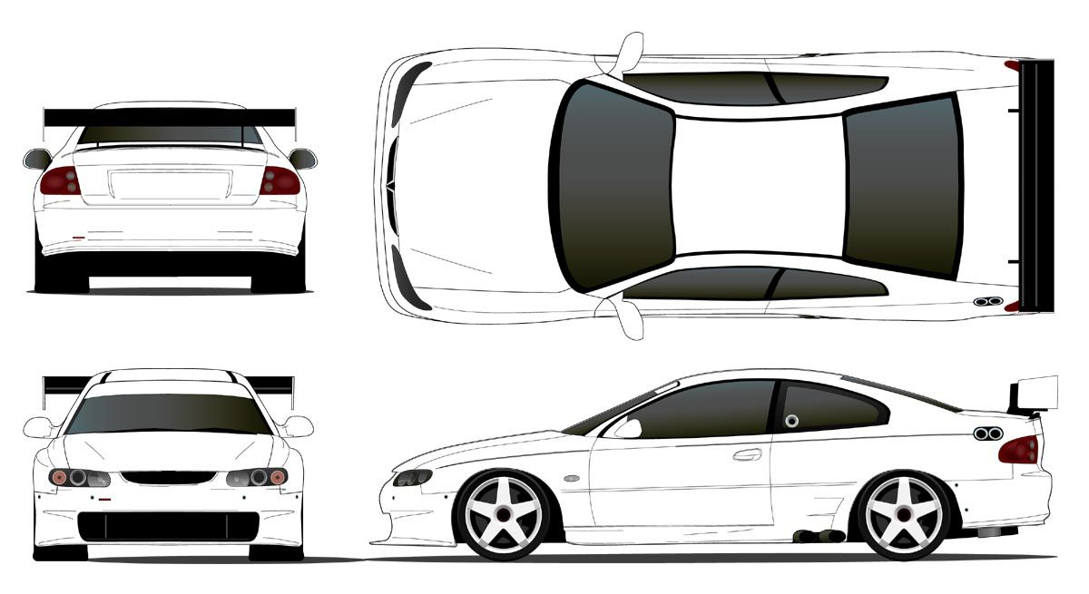 V8 supercar drawing rapunga google cars to draw for Blank race car templates