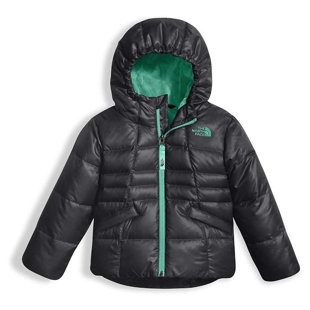The North Face Toddler Girls Moondoggy 2 0 Down Jacket 2t Graphite Grey Toddler Jacket Toddler Girl Kids Jacket [ 1000 x 1000 Pixel ]