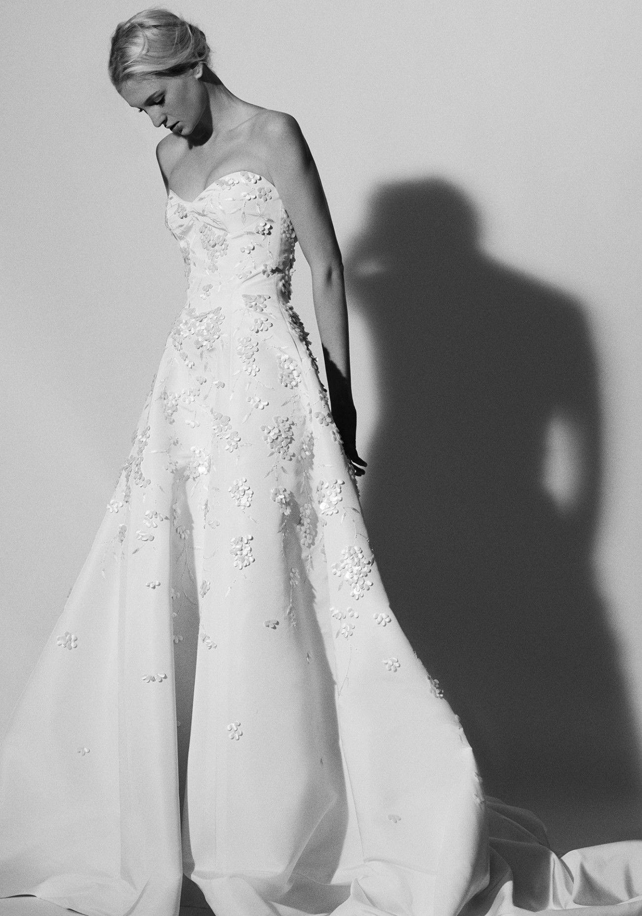Carolina herrera spring bridal spring bridal
