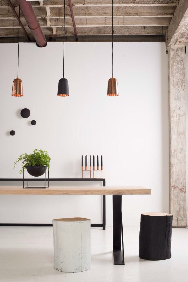 I like the pendant lights from Urban Couture