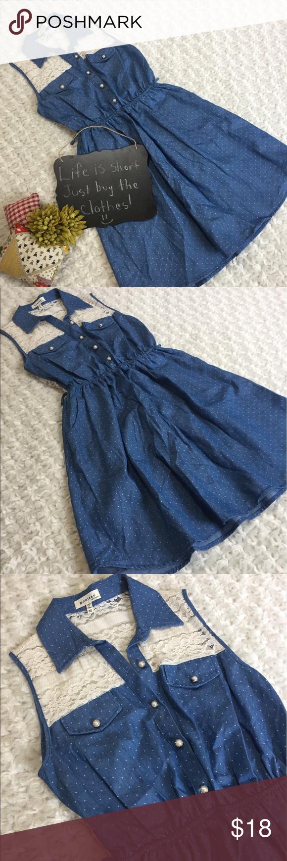 Monteau dress lace