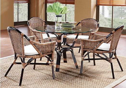 shop for a new pacific 5 pc dining set at rooms to go find dining rh pinterest com