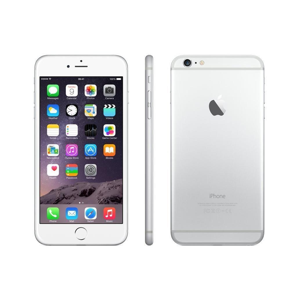 Iphone 6 Plus 16gb Silver Unlocked Iphone Apple Iphone 6 T Mobile Phones