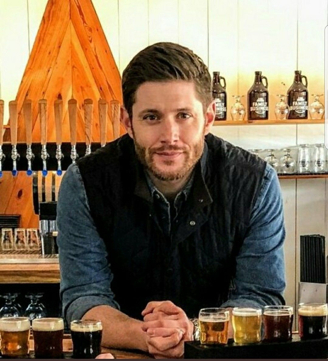 I'm so proud of Jensen...