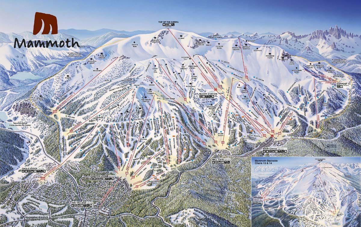 Mammoth lake ski