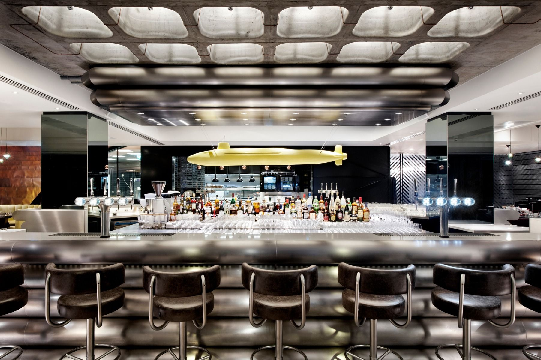Mondrian Hotel In London, Interiors By Tom Dixons Design Research