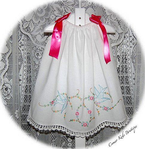 Tasha Vintage Pillowcase Dress | by Cameo Kids Boutique