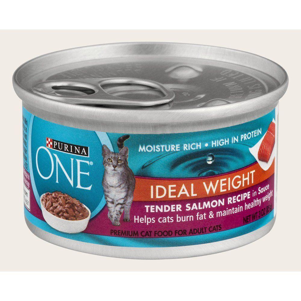 ONE Healthy Metabolism Cat Food, Tender Salmon Recipe, 3