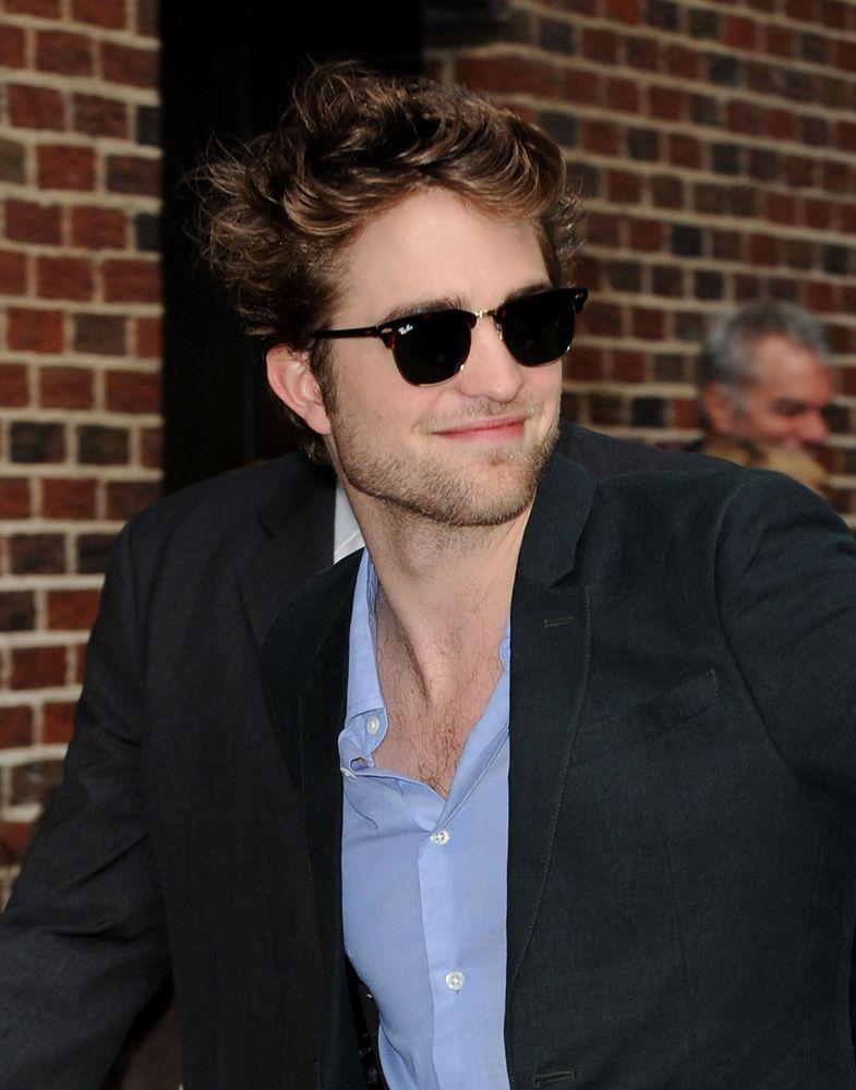2392efb07e Robert Pattinson wears Ray-Ban Clubmaster Sunglasses (RB-3016)