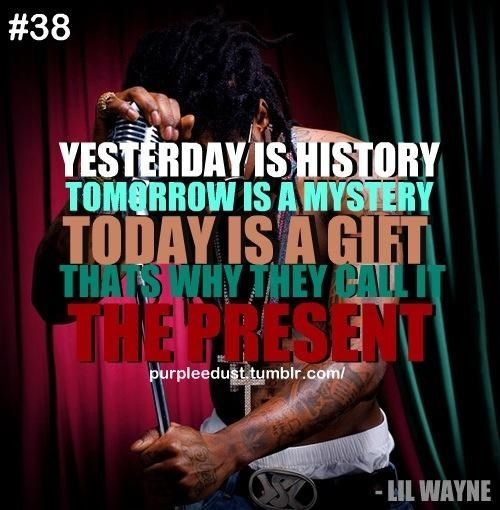 Lil Wayne quote. Lil wayne quotes, Rapper quotes
