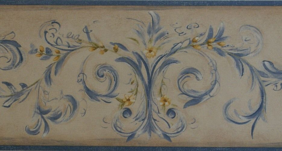 Country French Wallpaper Border