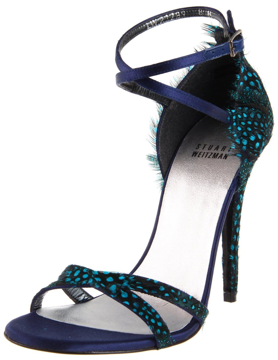 Stuart Weitzman Women's Lesplumes Sandal - designer shoes, handbags, jewelry, watches, and fashion accessories | endless.com