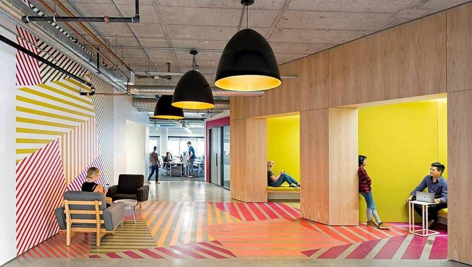 See photos of yelps sales offices located in san francisco designed by design studio o a learn the inspiration behind the unique global marketplace