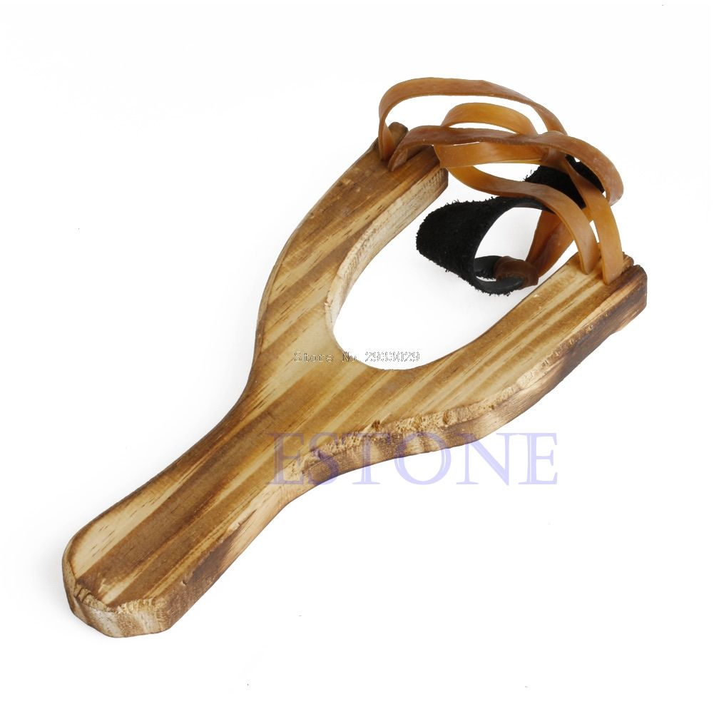 Lion toys for kids  Style Wood Slingshot Wooden Traditional Toy Wooden Sling Shot B