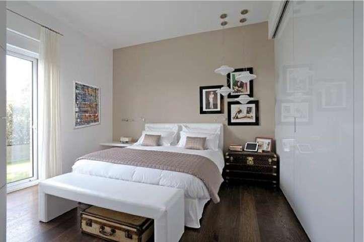Colori per camera da letto piccola - Camera da letto dai toni chiari