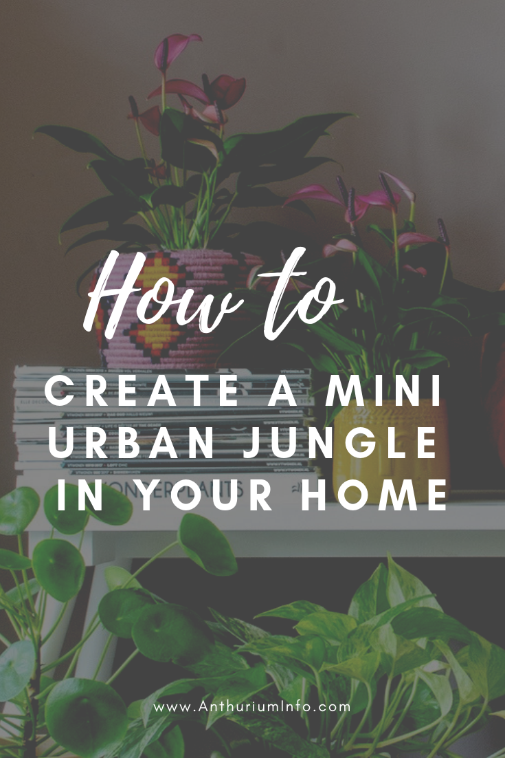 Here S How To Create A Mini Urban Jungle In Your Home Urban Jungle Beautiful Flowers Pictures Urban