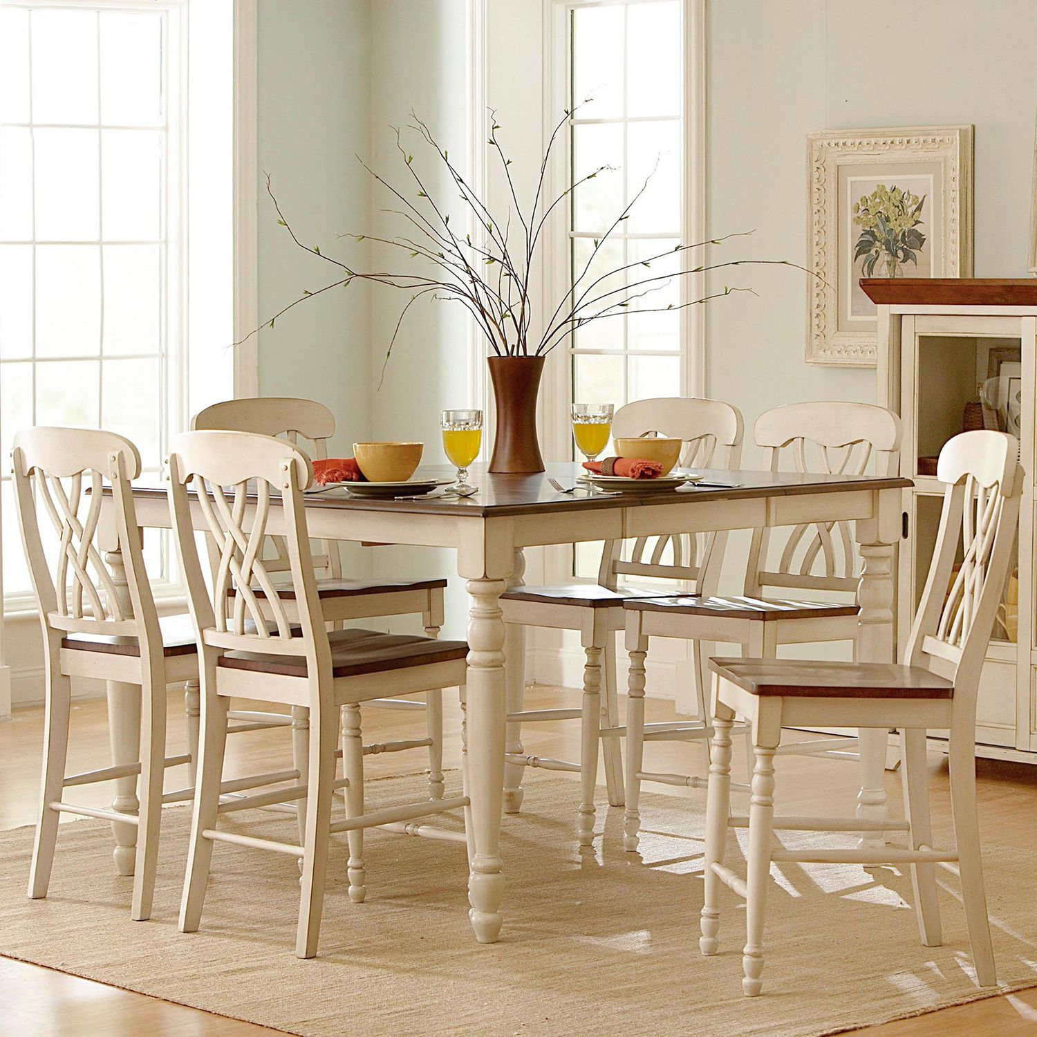 Mackenzie Counter-height Extending Dining Set by iNSPIRE Q Classic by  iNSPIRE Q