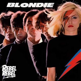 Bowie Forever Blondie By Poster Graphix Blondie Albums Cool