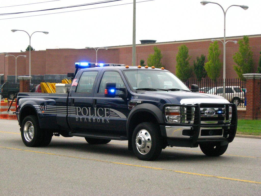 Ford F 450 Super Duty Police Truck In Dearborn Mi Flickr Ford Police Police Cars Police Truck