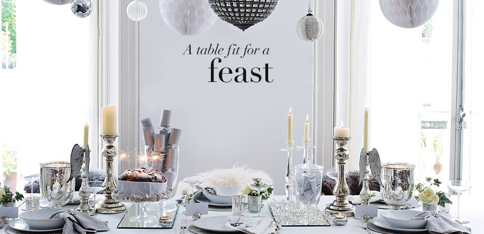 The White Company With Images Christmas Table Settings Christmas Table Holiday Tables