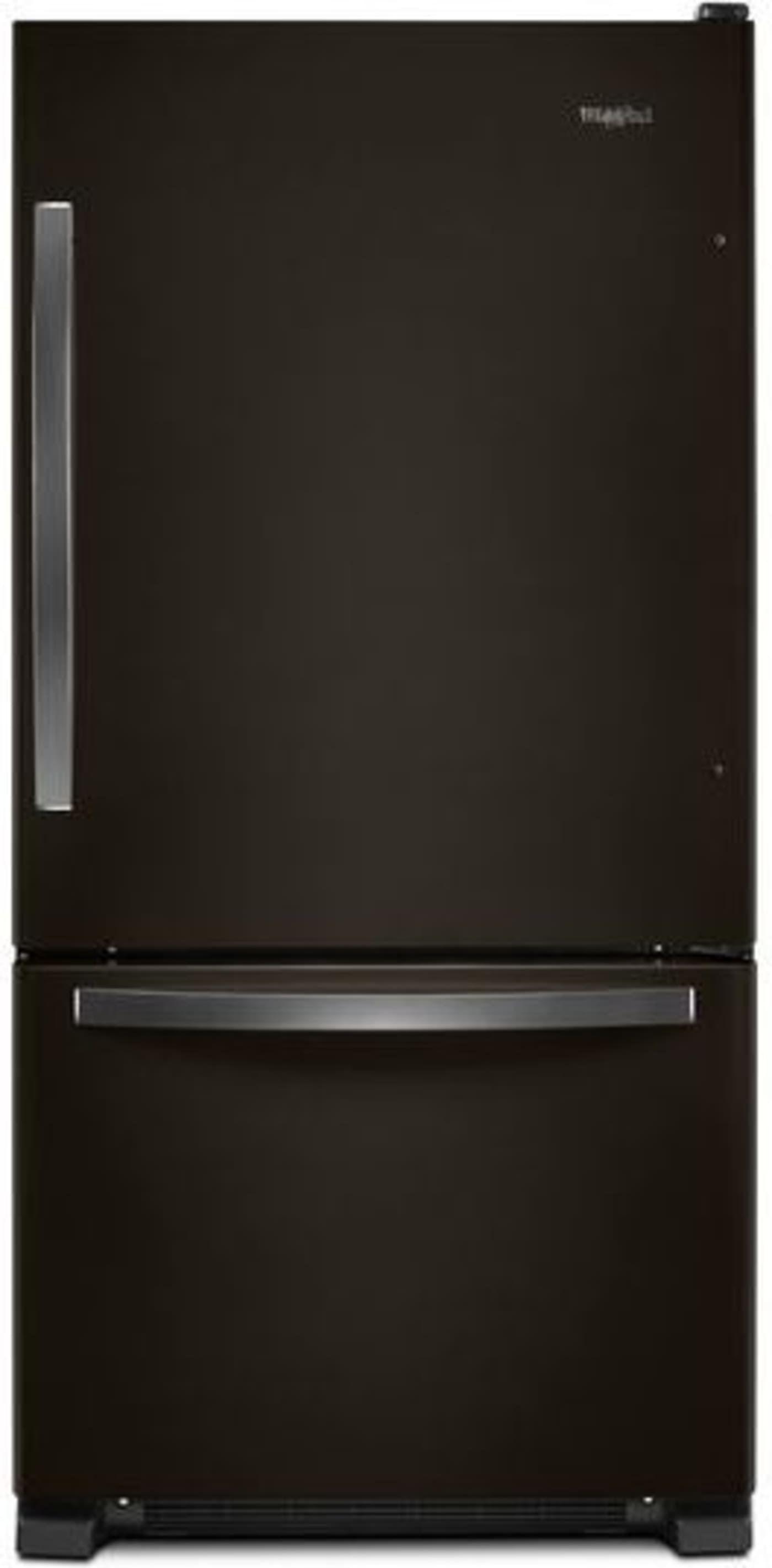 Wrb322dmhv By Whirlpool Bottom Freezer Refrigerators Goedekers Com Bottom Freezer Refrigerator Whirlpool