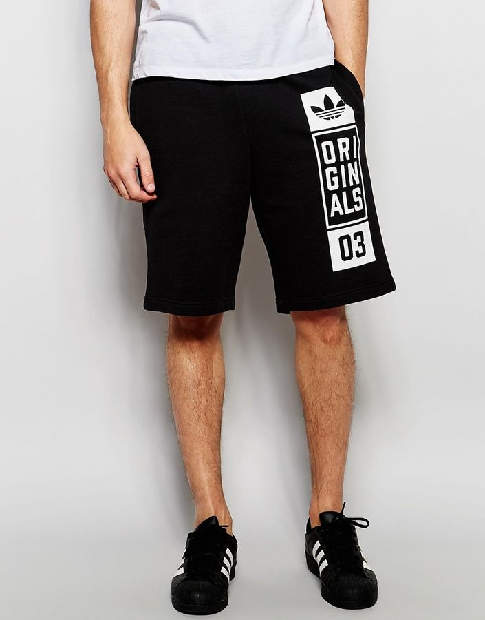 f514cd5d8fa3b adidas Originals Sweat Shorts With Street Graphic AJ7634 ...
