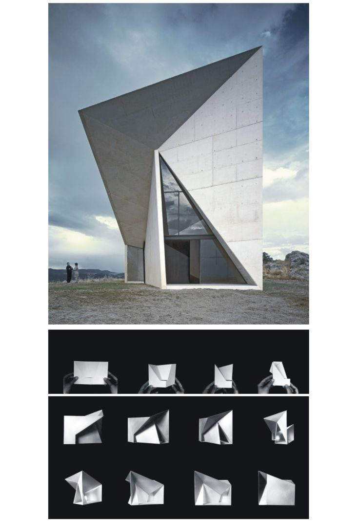 Folding architecture, Arches and Architecture on Pinterest