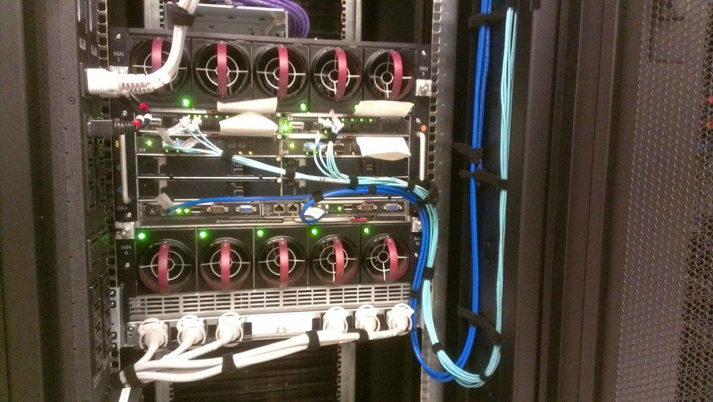 Hp Blade C7000 Cable Management