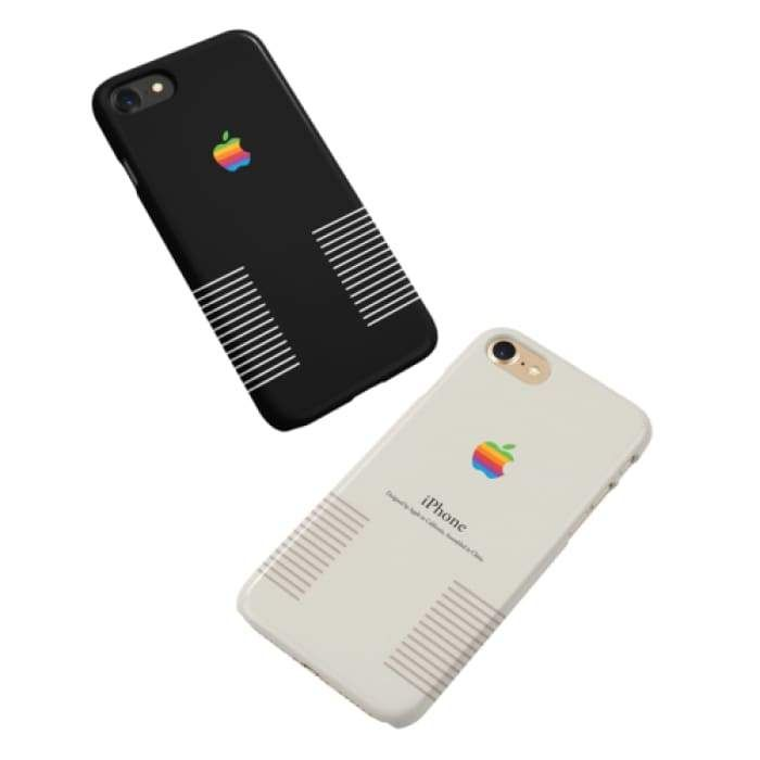 best service 7926d 751c3 Handmade Retro Apple Logo Vintage | White or Black | Products ...