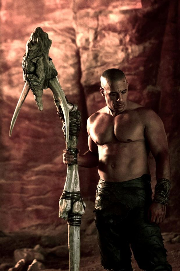 Vin Diesel is looking good in a new image from RIDDICK!