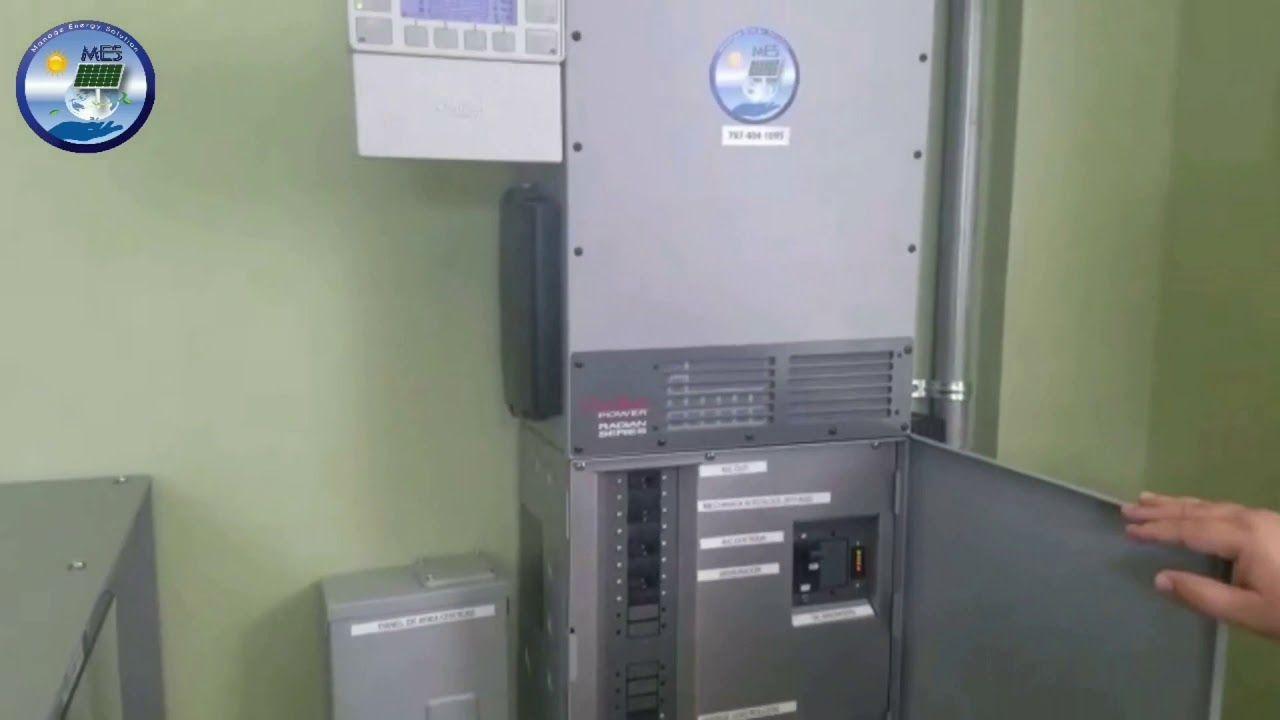 Sistema Combinado De Paneles Solares Molino De Viento Y Baterias Puerto Rico Parte Ii Youtube Instalaciones Fotovoltaicas Molinos De Viento Paneles Solares