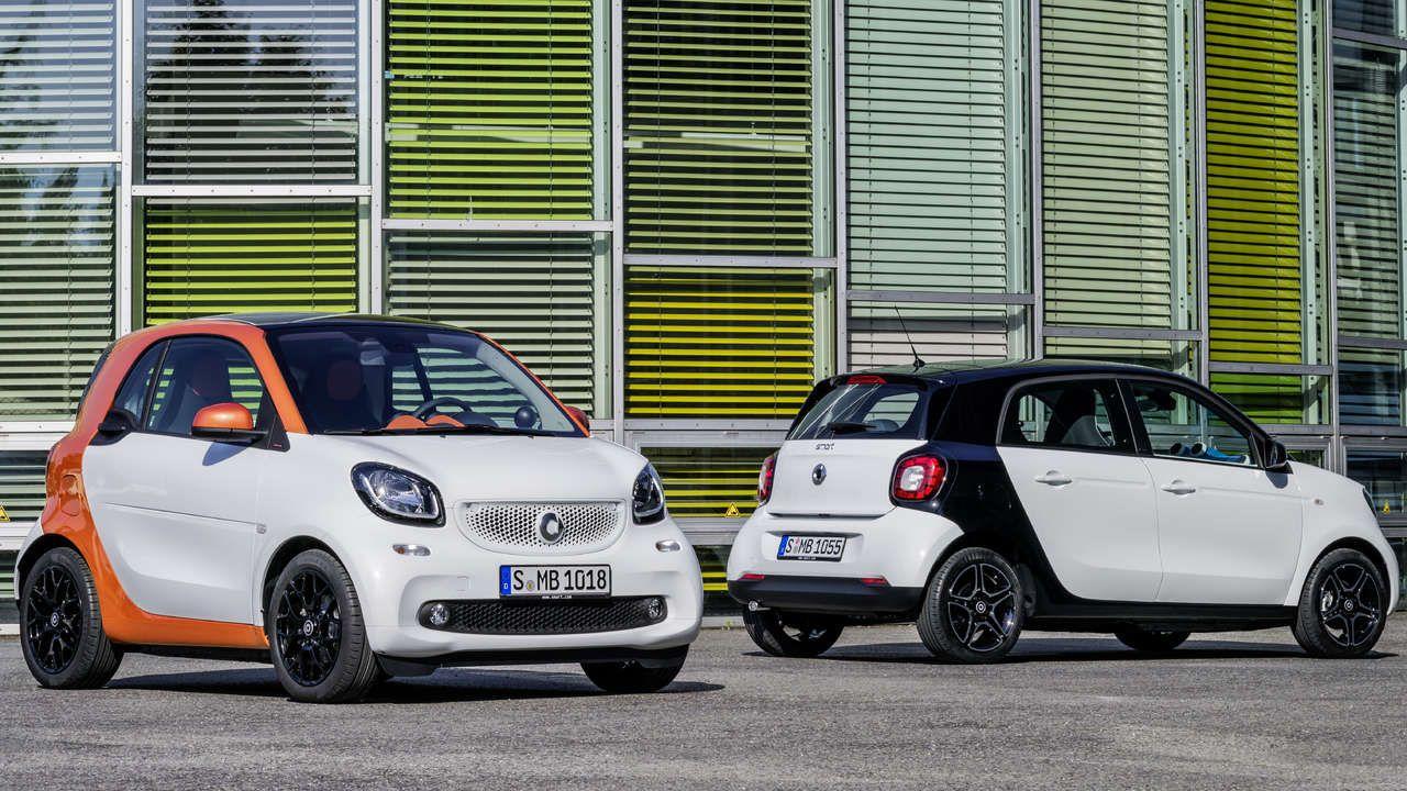 New smart cars - love them!
