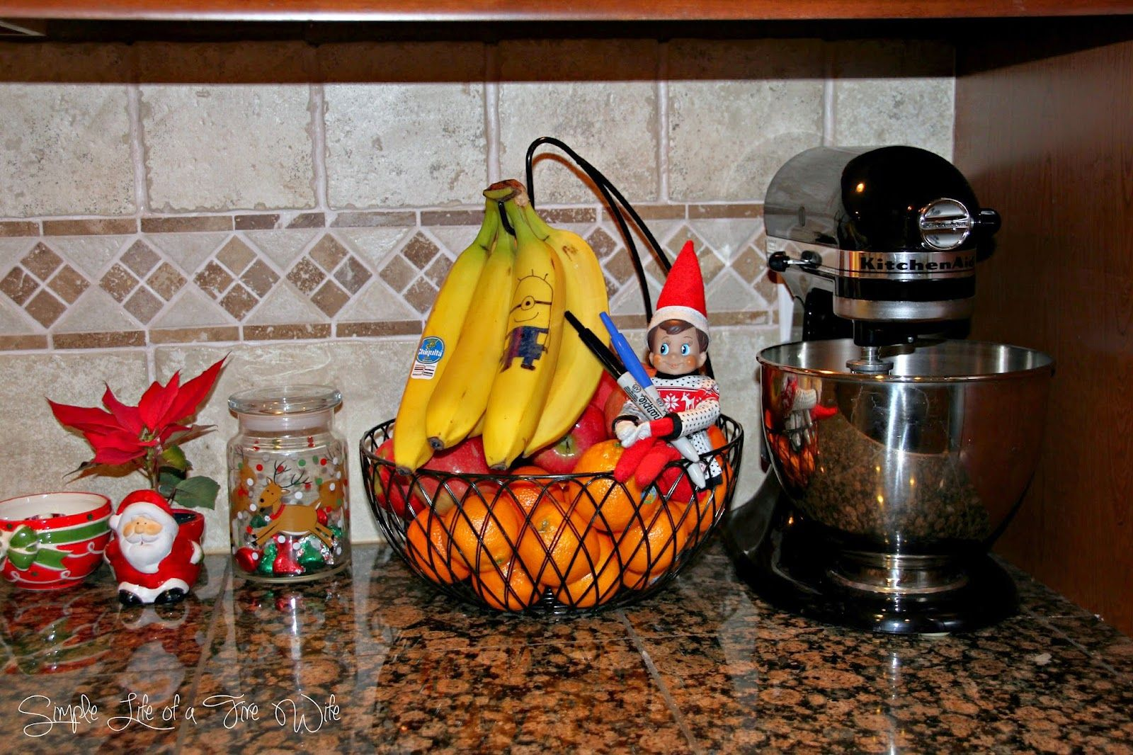 Elf On The Shelf Minion Banana Www Simplelifeofafirewife Com