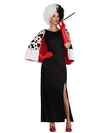 cef8e4e87 Disfraz 'Cruelle de Vil' | disfraces | Disfraz mujer, Disfraces ...