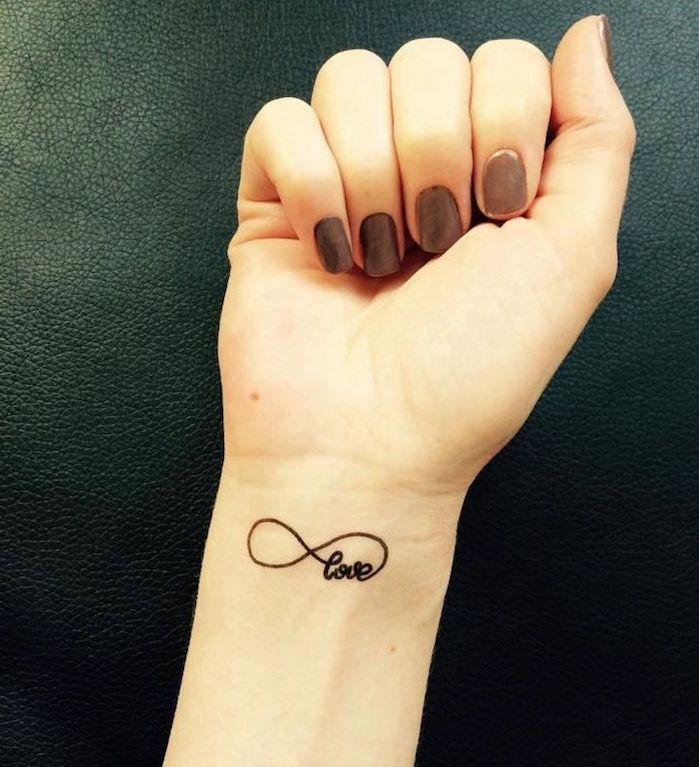 1001 id es tattoo tattoos love tattoos wrist tattoos. Black Bedroom Furniture Sets. Home Design Ideas