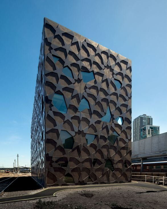 Superb Gorgeous Facade With Precast Concrete By McBride Charles Ryan   Yardmasteru0027s  Building In Melbourne. Amazing Pictures