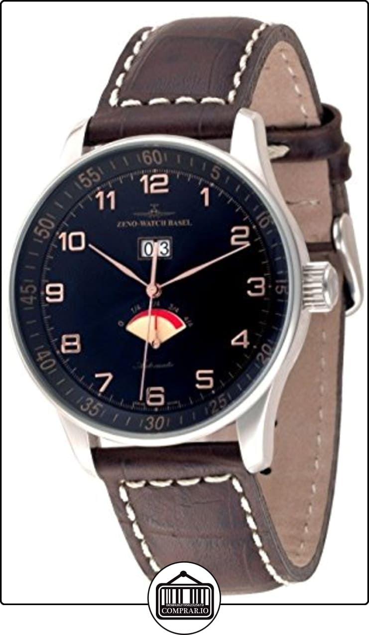 Zeno-Watch Reloj Mujer - X-Large Retro Big Date Power Reserve - P590-g1  ✿ Relojes para hombre - (Lujo) ✿