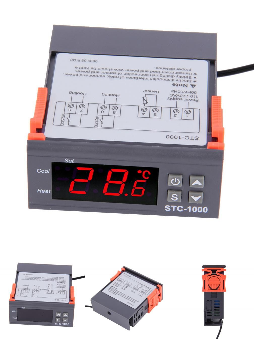 Visit To Buy 1pc High Quality Temperature Controller Thermostat