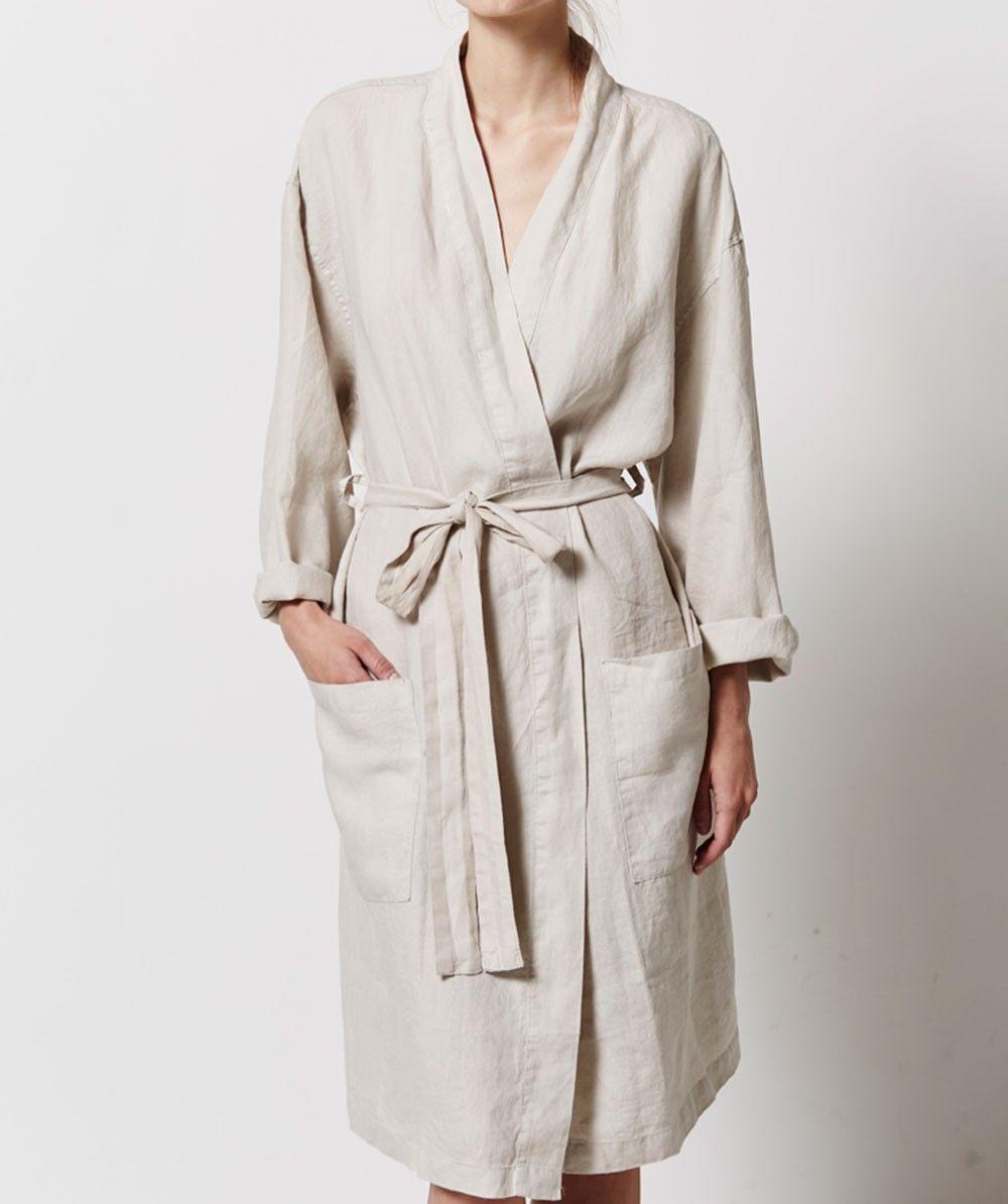 Linen Robe  0aeb19227