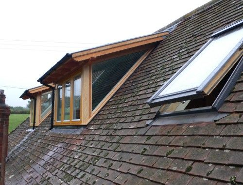 conversion solar loft balcony flat roof dormer pitched roof dormer
