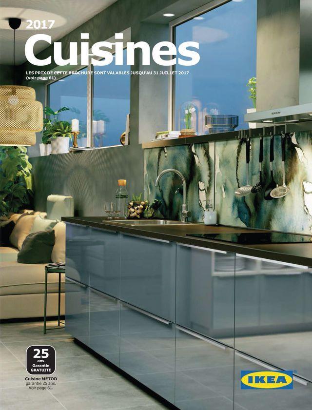 cuisine ikea coup d 39 oeil sur le nouveau catalogue 2017 turquoise kitchen eclectic kitchen. Black Bedroom Furniture Sets. Home Design Ideas