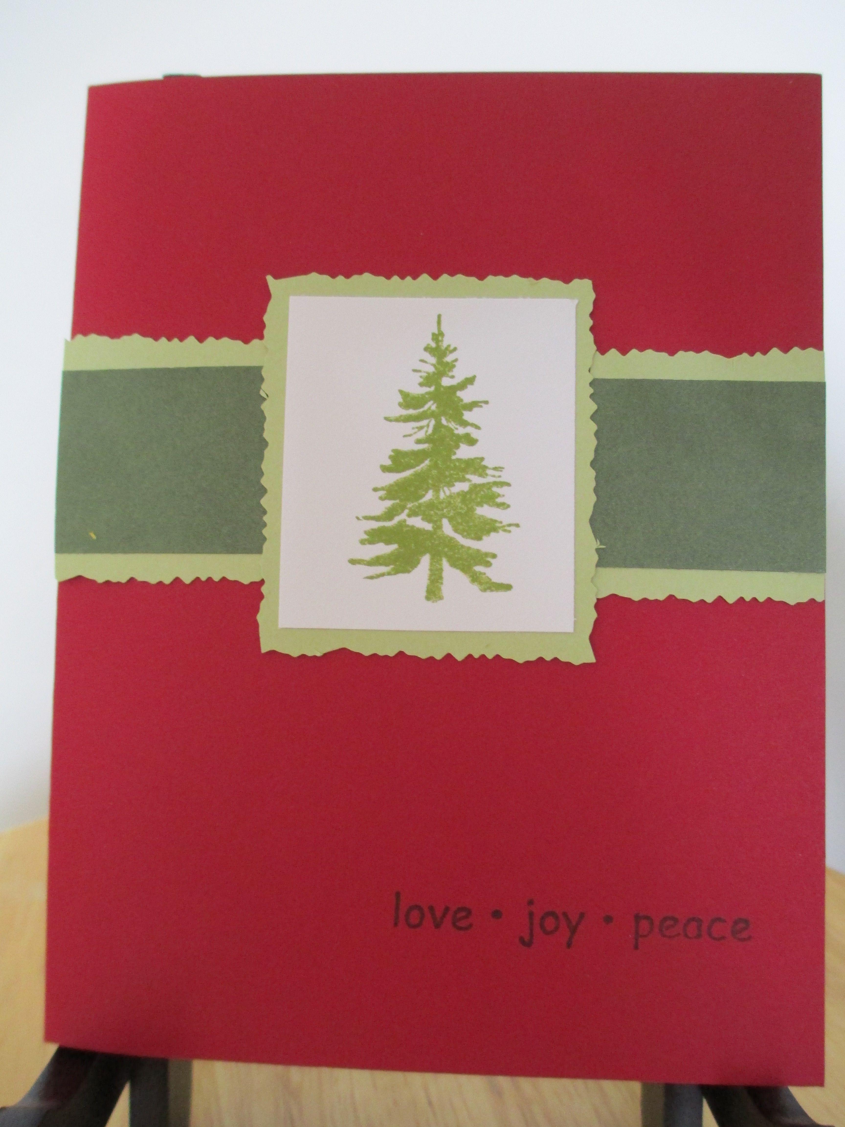 Christmas Tree-Love, Joy, Peace