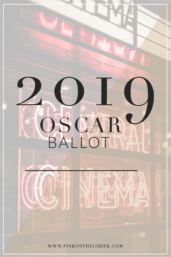 2019 Oscar Night With Free Oscar Ballot Printable Oscar Party