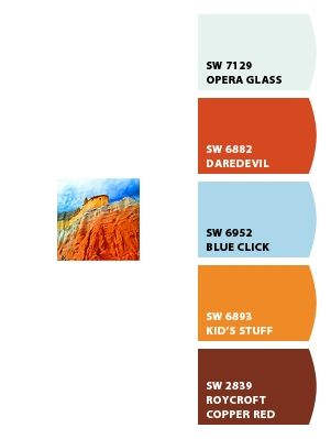 Echo Canyon Near Abiquiu New Mexico Chipit Paint Colors From Chip It By Sherwin Williams