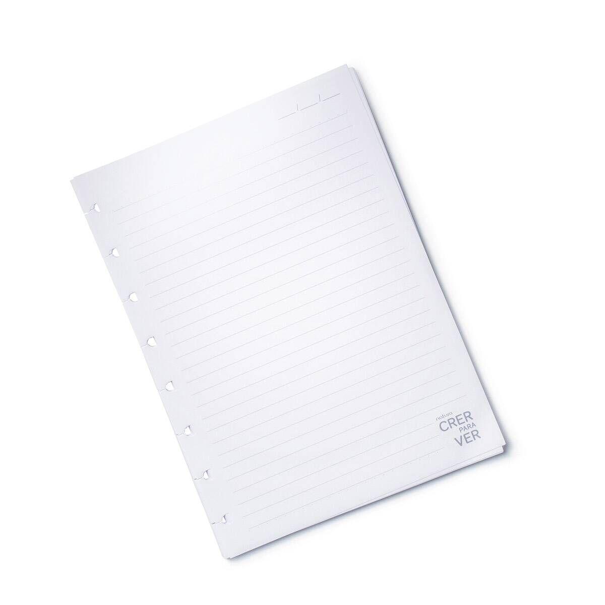 O Refil Do Caderno Crer Para Ver Permite Que Voce Tenha Um Caderno