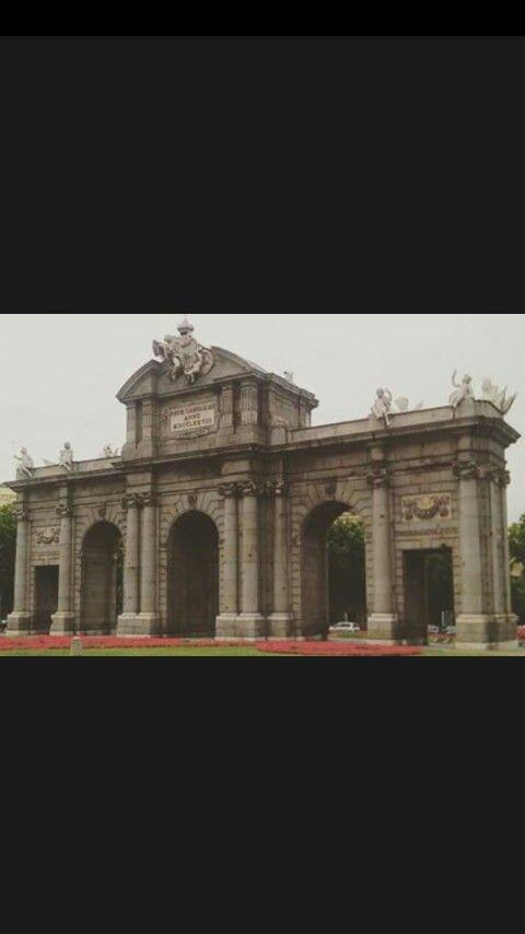 La Puerta de Alcala.Madrid.