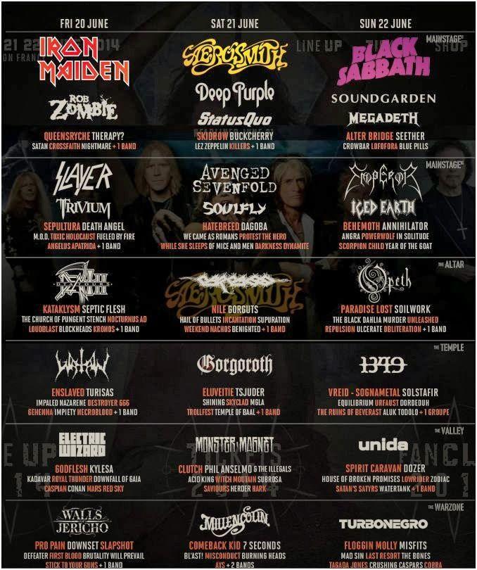 Metal logos (various)